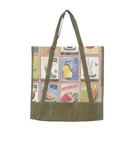 Mica Mai Bag Recycled Plastic - Light Green Outdoor - l38xw15xh41cm