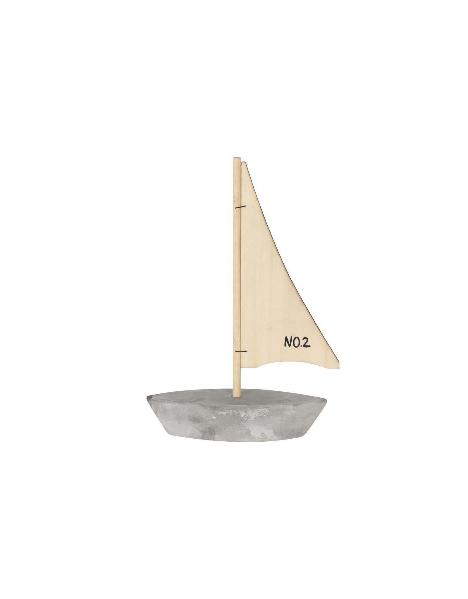 Dijk Boat Cement - 15x5x23.5cm