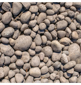 """Athabasca River Rock - 4""""-8"""" Round"""
