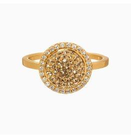 Hillberg & Berk H&B - Sparkle Ball Halo Ring