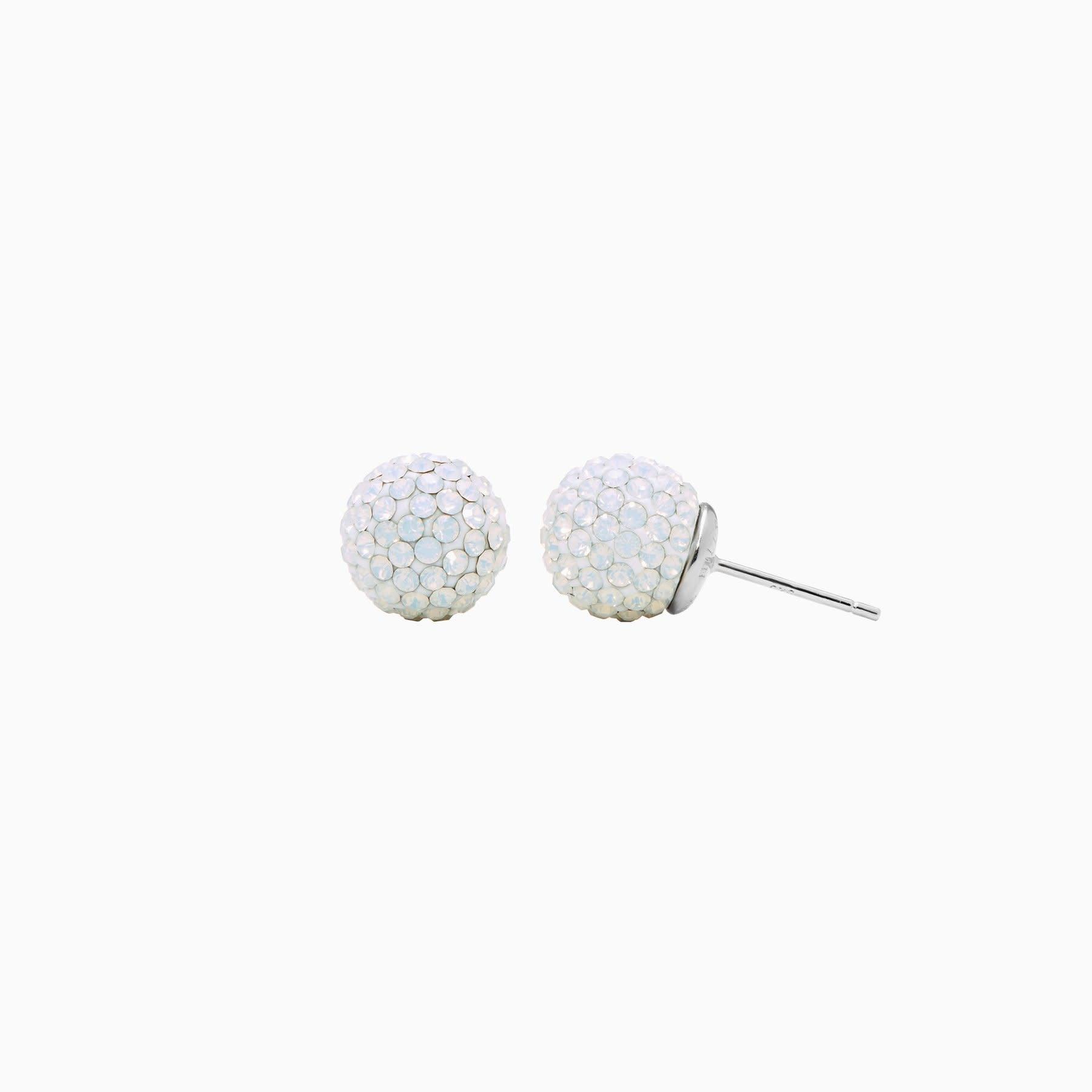 Hillberg & Berk H&B Birthstone Sparkle Ball Stud Earrings