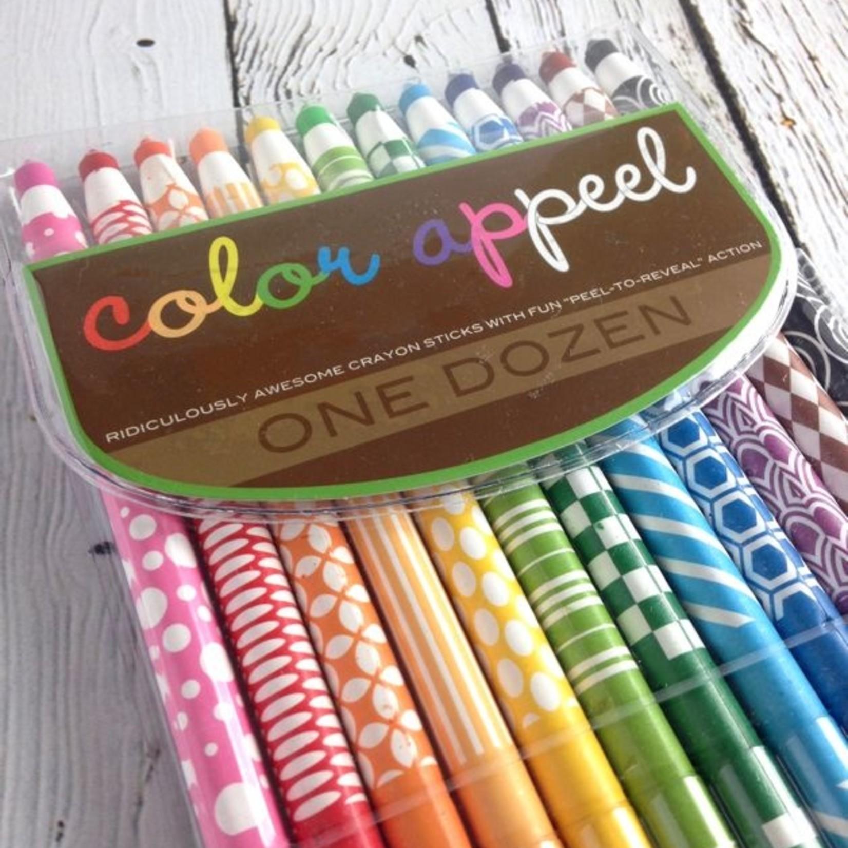 Color Appeel Crayon Sticks, Set of 12