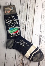 BlueQ Men's Sunday Socks