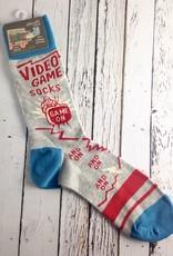 BlueQ Men's Video Game Socks