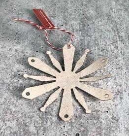 RCA 2019 Dome Flake Ornament