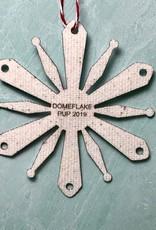 PUP RCA 2019 Dome Flake Ornament