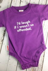 I'd Laugh Onesie 6-12 Months
