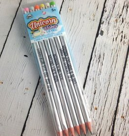 Unicorn Holigraphic Pencils