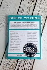 KnockKnock Office Citation Nifty Notes