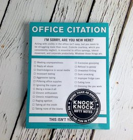 KnockKnock Office Citation Nifty Notes