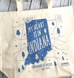 Noteworthy Greetings From Indiana Tote