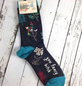 BlueQ You Fancy Bitch Women's Crew Socks