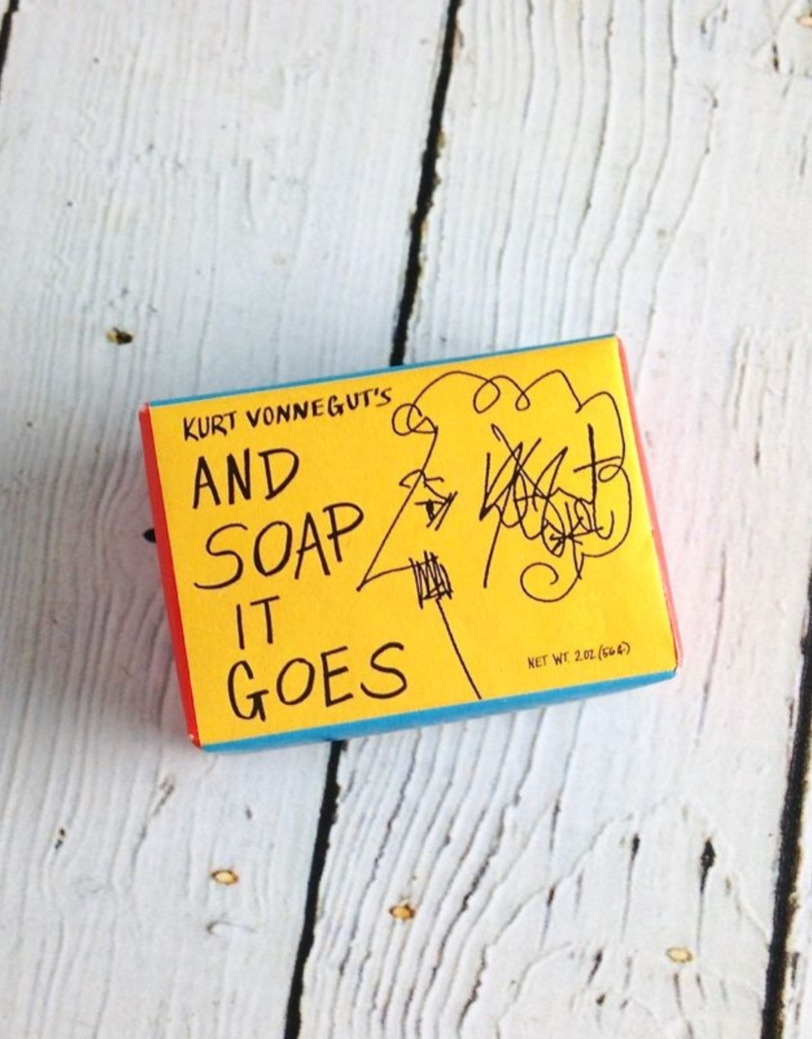 UNEMPLOYED Kurt Vonnegut's And Soap It Goes