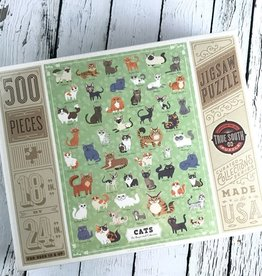 Illustrated Cats Puzzle
