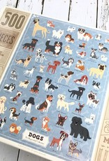 Illustrated Dogs Puzzle