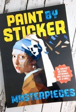 Paint by Sticker® Masterpieces Re-Create 12 Iconic Artworks One Sticker at a Time!
