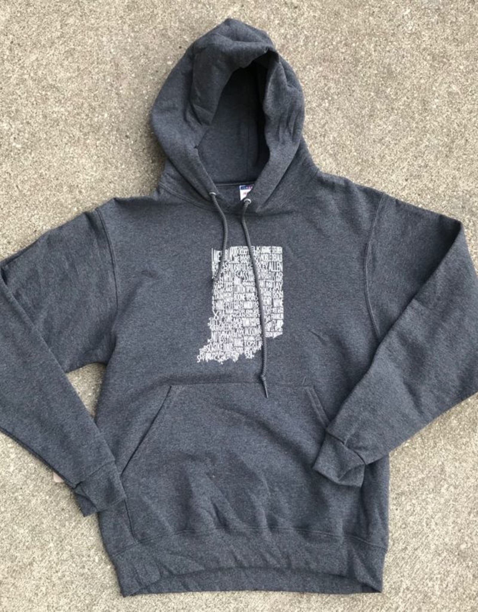 SUNDAY AFTERNOON HOUSEWIFE Large Indiana County Hoodie
