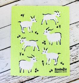 Goats Swedish Dishcloth