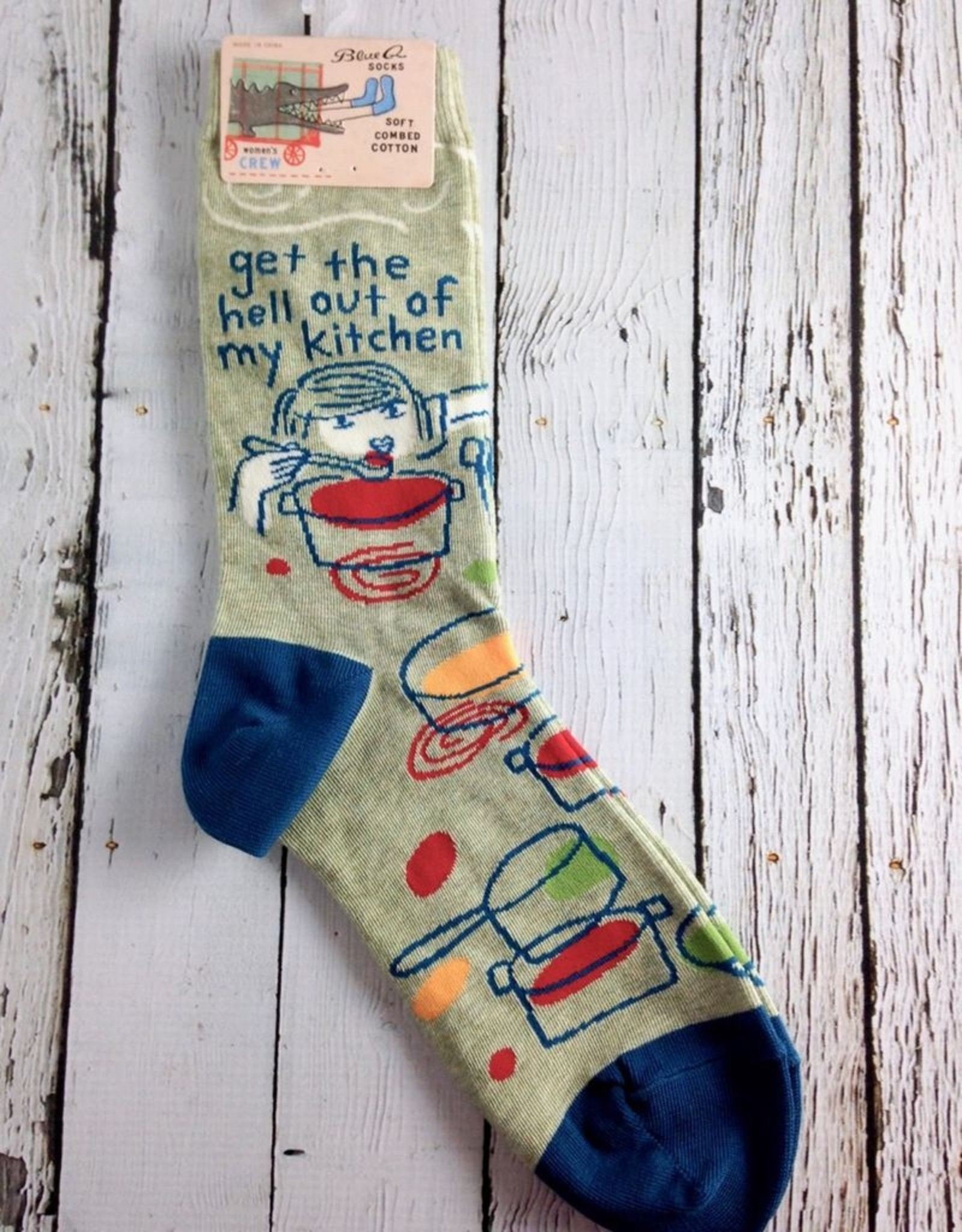 Get The Hell Out Women's Crew Socks