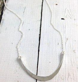 Handmade Silver Siren Necklace