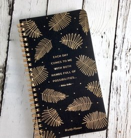 Compendium Each Day Comes To Me With Both Hands Full Of Possibilities: Weekly Planner