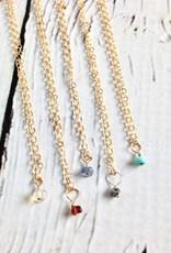Handmade 14k Goldfill Birthstone Necklace