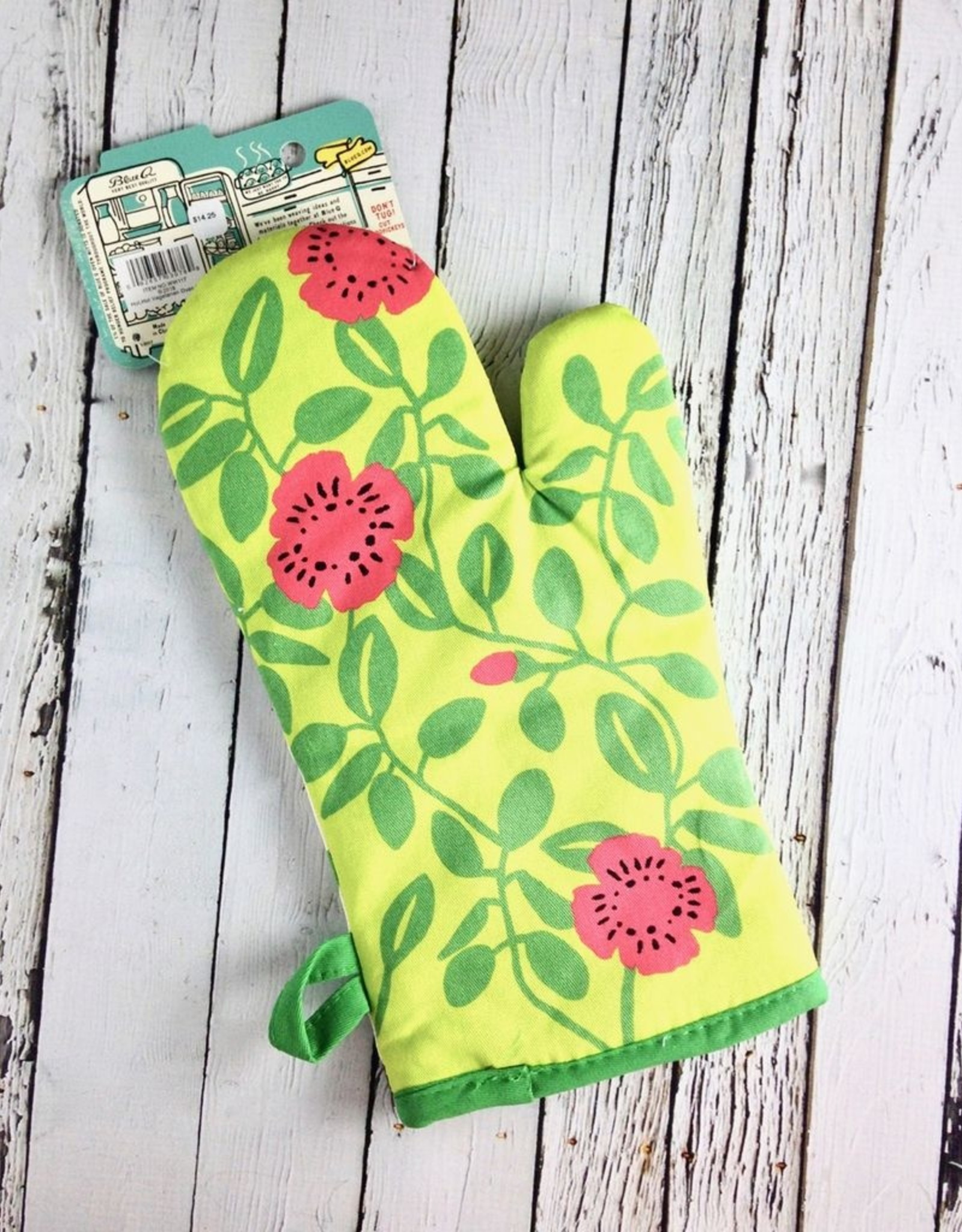 Hot Hot Vegetarian Oven Mitt