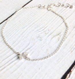 Sterling Silver Lucky Charm  Unicorn Charm Bracelet