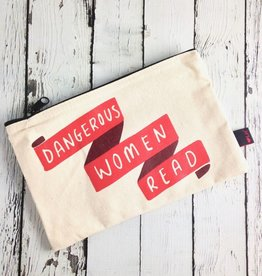Dangerous Women Read Zip Pouch Pencil Case