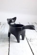 Floor 9 Black Fox Candle Holder