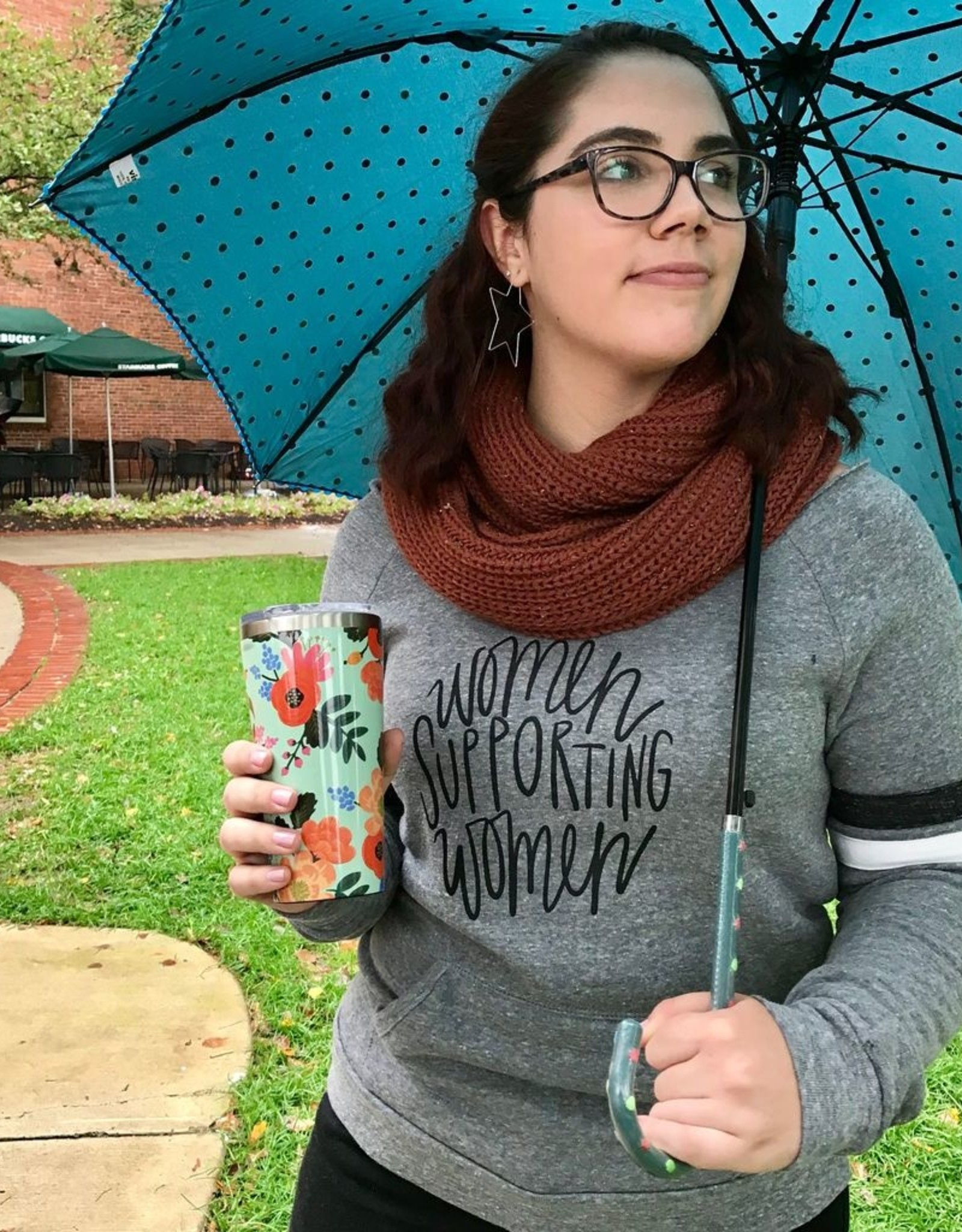 SUNDAY AFTERNOON HOUSEWIFE Women Supporting Women Sweatshirt