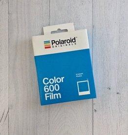 600 Color Polaroid Film  White Frame