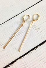 Freshie & Zero Gold Filled Stem Earrings