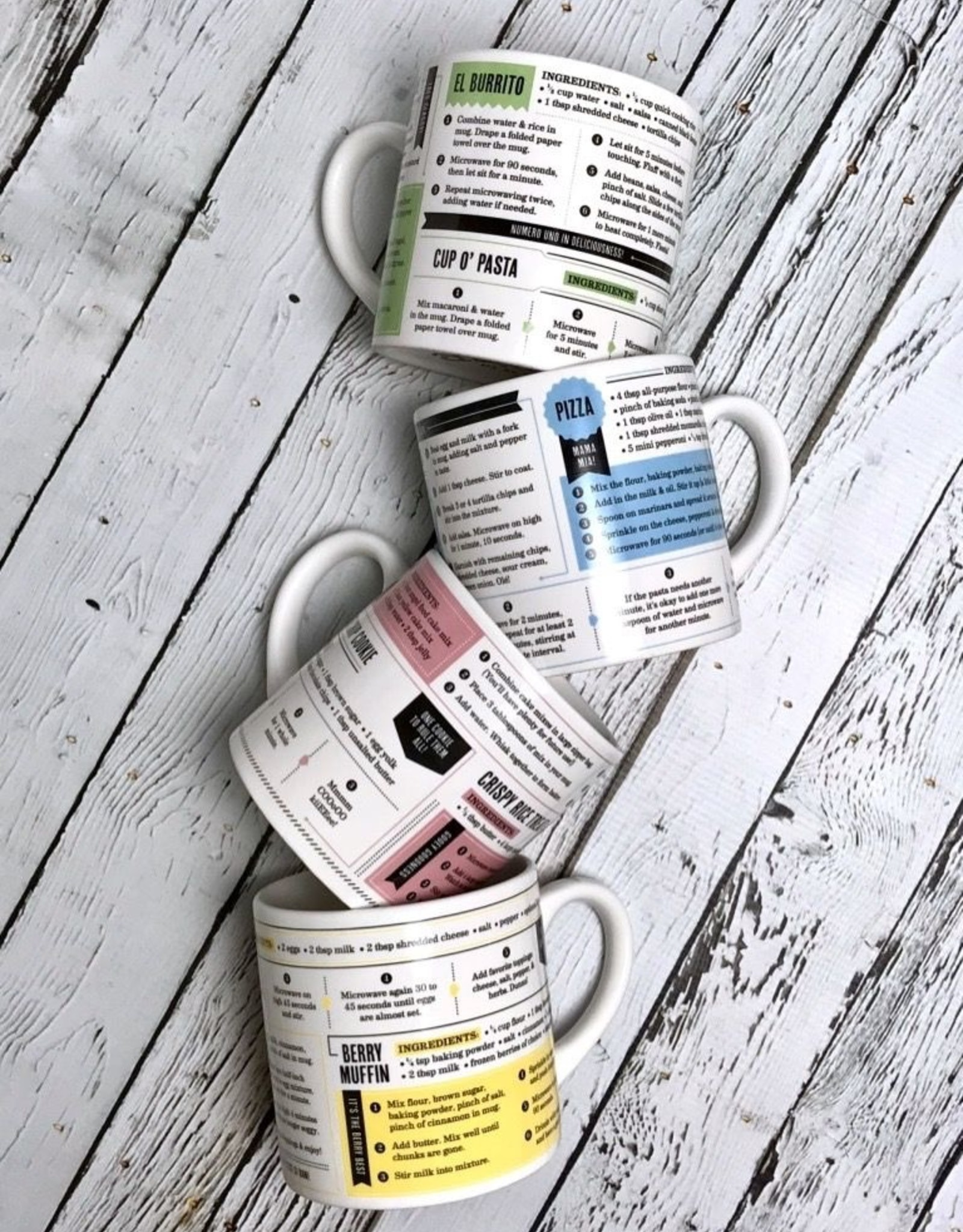Fred Recipe Set Grub Mugs