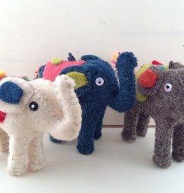 Roost Felt Circus Elephant Ornament