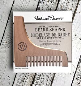 Rockwell Razor Beard Shaper Pear Wood