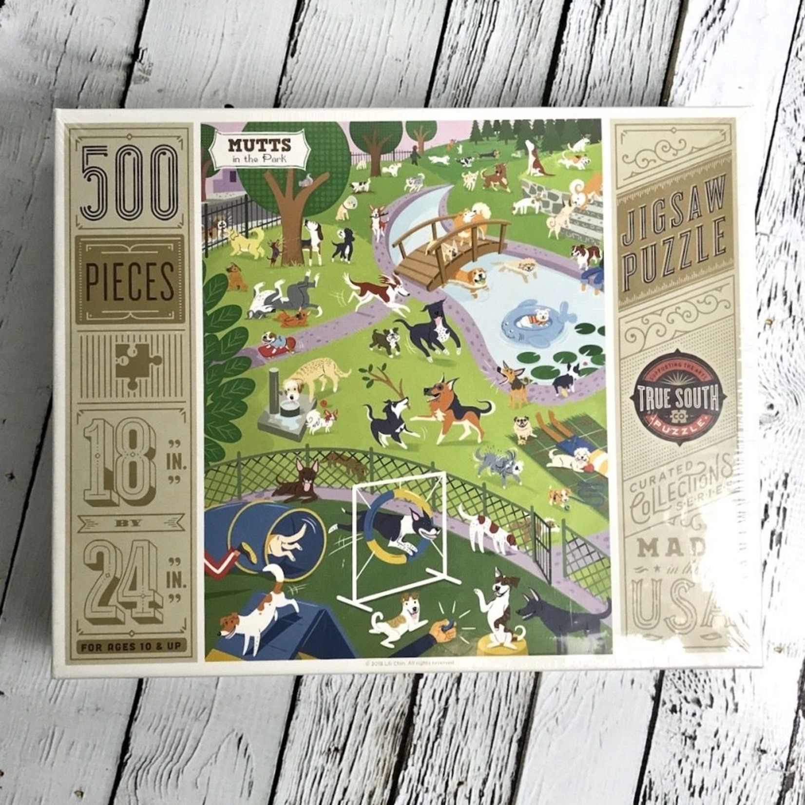 Mutts in the Park Puzzle