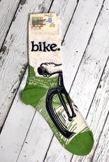 BlueQ Bike Path Women's Crew Socks