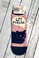 BlueQ I Do As I Please Women's Ankle Sock