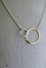 """Sterling Silver Love Necklace (18"""")"""