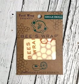 Single Small Bee's Wax Wrap