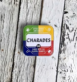 After Dinner Amusements: Charades 50 Cards with 200 Playful Prompts