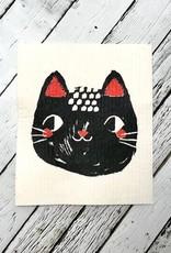 Meow Meow Swedish Dishcloth
