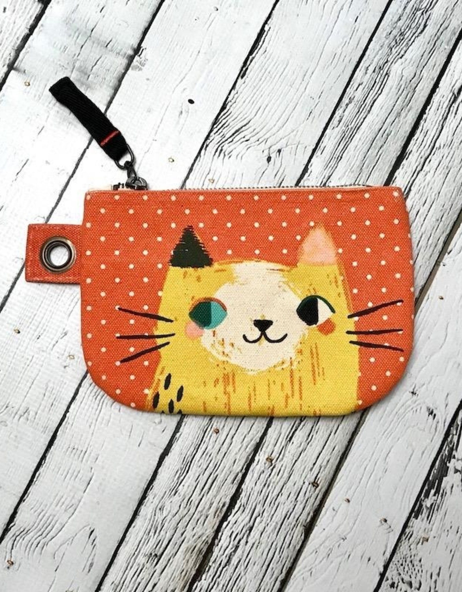 Meow Meow Small Zipper Pouch