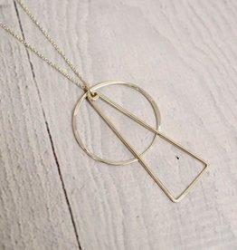 """Handmade Silver Wonder Necklace, 24"""""""