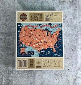 TrueSouthPuzzle Outdoor Adventure 1000 Piece Puzzle
