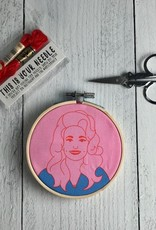Dolly Parton Embroidery Kit