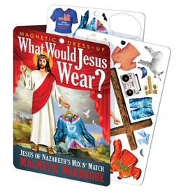 UNEMPLOYED Jesus Dress Up Magnet Set