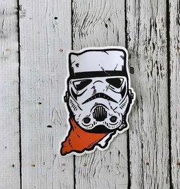 Indiana Trooper Sticker