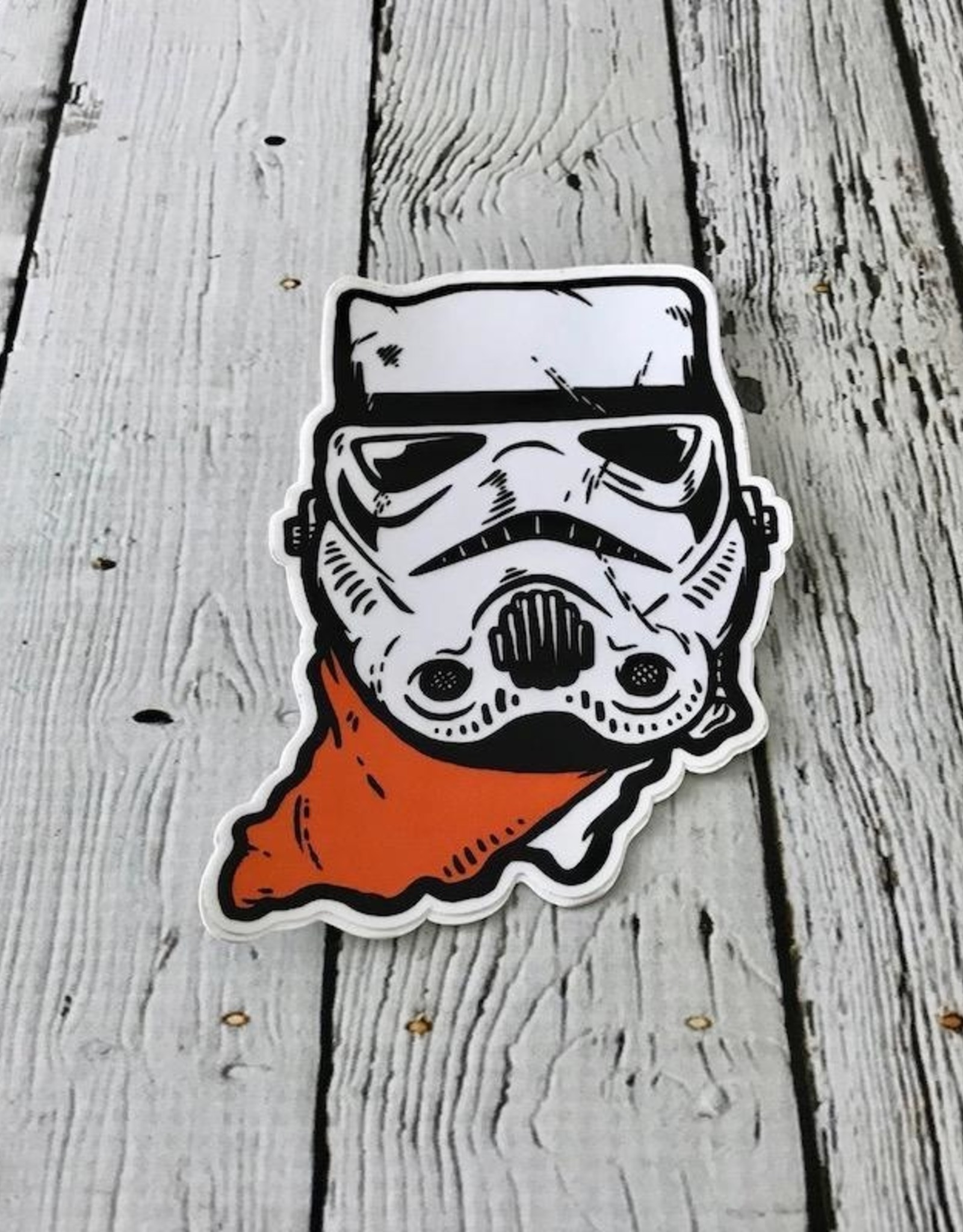 USI Indiana Trooper Sticker